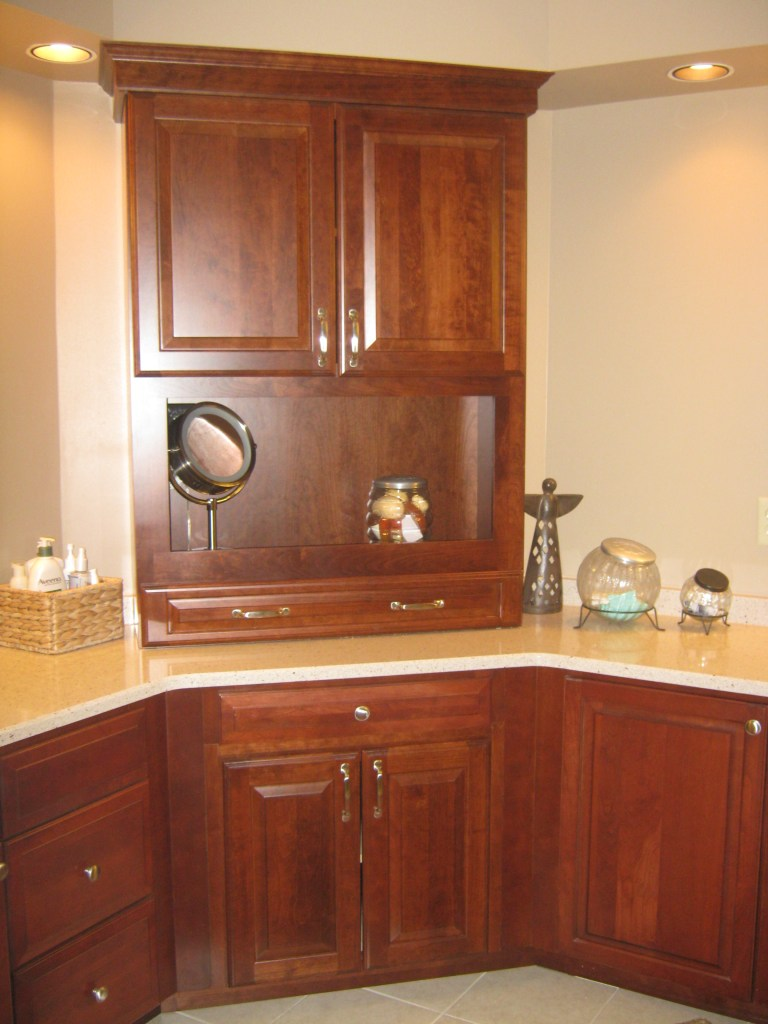 Additional Cabinetry in Master Bathroom
