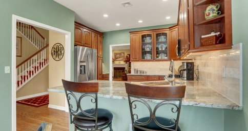 Townhouse Kitchen Remodel with Style (K-95)