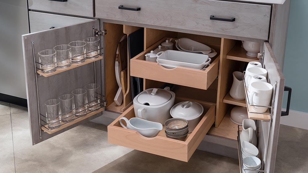 Kitchen Storage Systems Installation