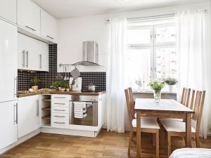 Make Your Small Kitchen Look Bigger