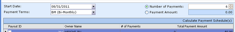 Payout Agreement, Payment Terms Wizard, top, 001