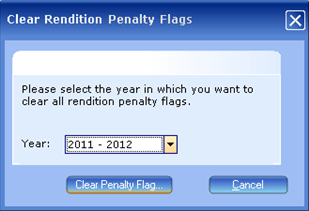 Rendition Processing, Clear Rendition Penalty Flag dialog, 001, 9035x