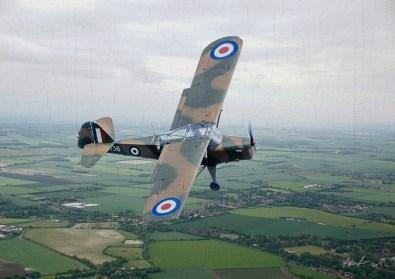 Auster Spotter aircraft