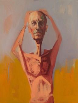 'Désespoir Mélancolique' by M. Harrison-Priestman - oil on linen, 60 x 45 cm, 2015.
