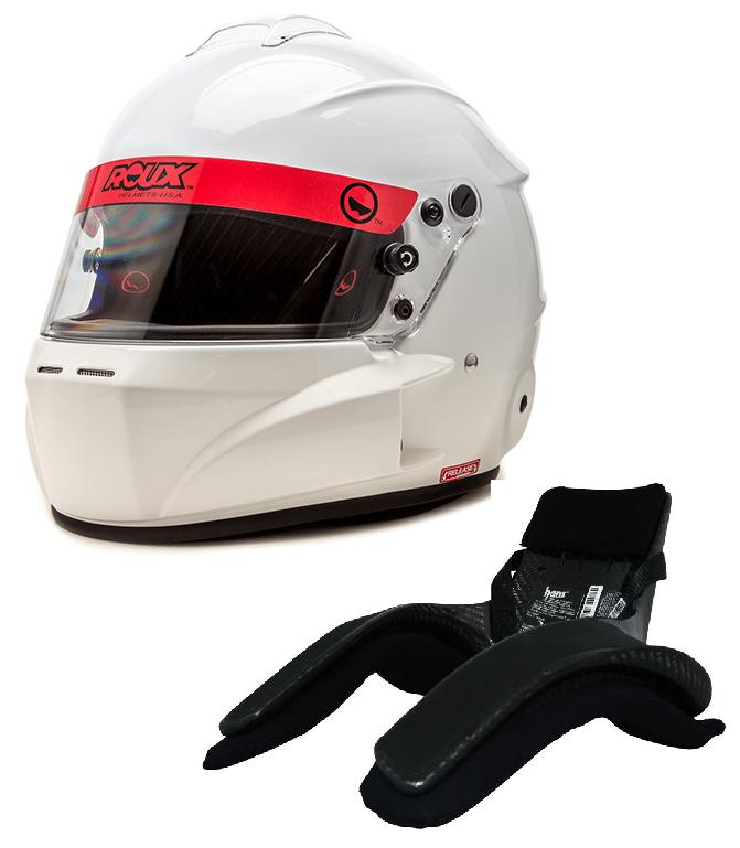 Roux Helmet Hans device combination
