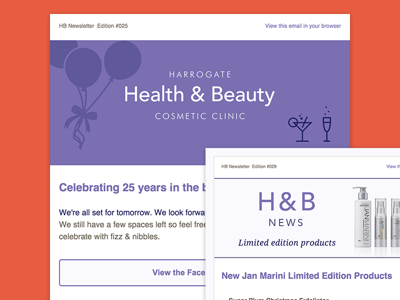 Harrogate Beauty Newsletter