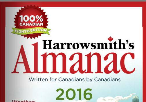 Harrowsmith Almanac 2016