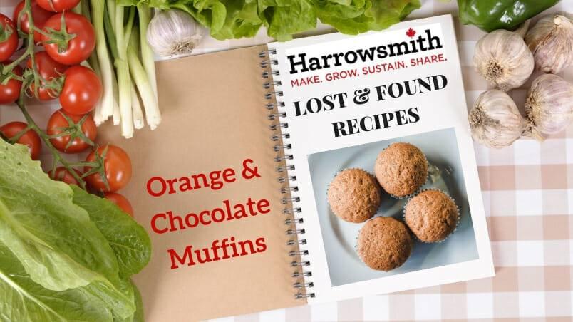 Orange & Chocolate Muffins