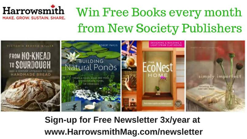 Win Free Books from New Society Publishers