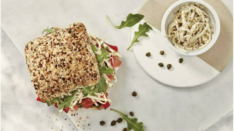 Boulart Smoked Trout Sandwich With Celery Root Remoulade