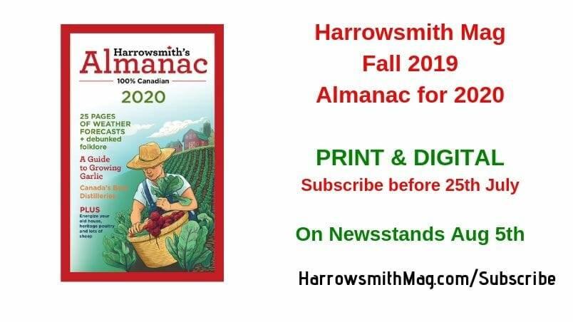 Harrowsmith Mag Fall 2019