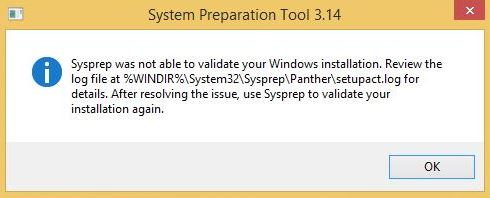 How to run SysPrep on an Upgraded Operating System | Learn