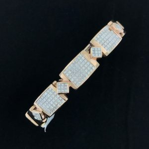 Harry Glinberg Jewelers - Rose Gold Diamond Bangle