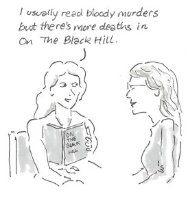 On the Black Hill cartoon 001