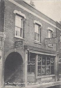 COBBLERS: there was a shoe maker on this site in Market Street in Highbridge from the 19th century to the 1950s