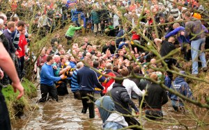 Shrovetide Football is a game of two days and five hundred players