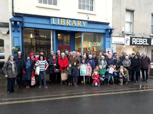 The Friends of Cheddar Library have organised a protest demonstration over the planned closure of the library