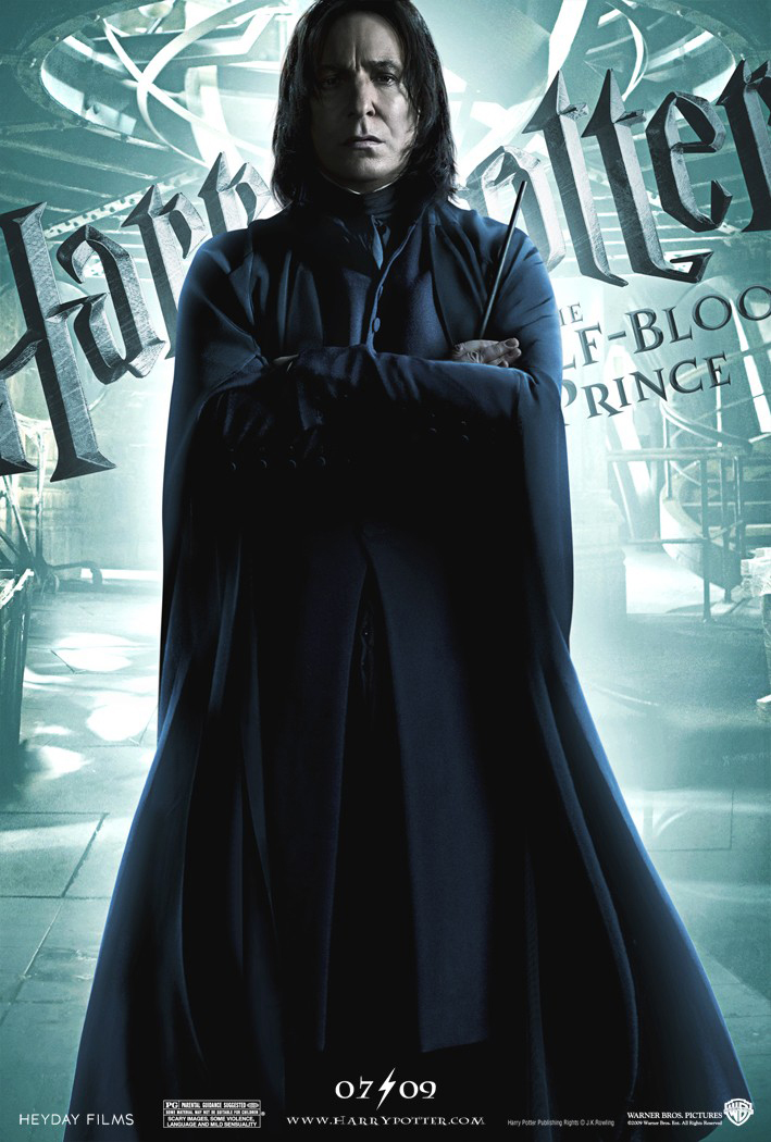 Harry Potter And The Half Blood Prince Snape Poster