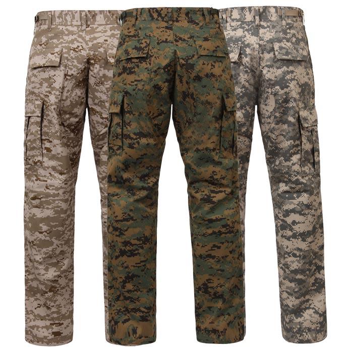 Digital Camouflage Shorts