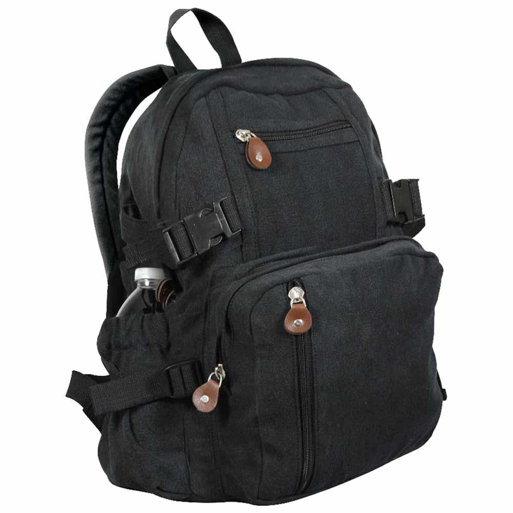 Mini Canvas Backpack Military Backpacks Olive Black Brown