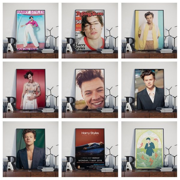 New Harry Style Posters Wall Art