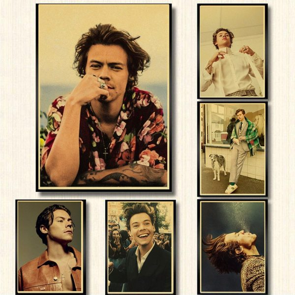 Harry Style Wall Poster