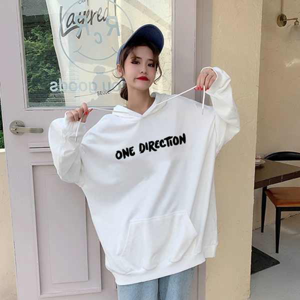 New Harry Styles Graphic One Direction Merch Harajuku Aesthetic Pullover Hoodie