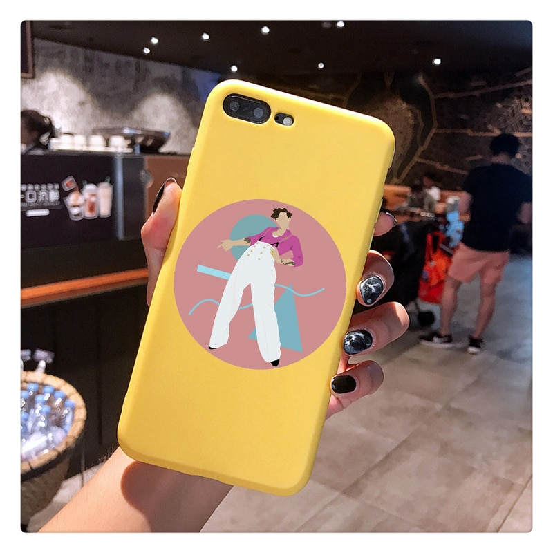 Harry Styles Case phone For iphone 12 X 7 XS XR XSMAX 11 11ProMax 12ProMax Cover