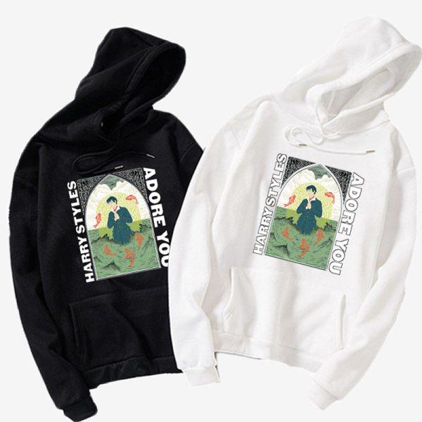 Harry Styles Hip Hop Sweatshirts Fleece Men and Women Hoodie Coat Jacket