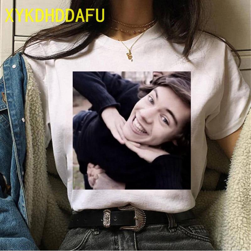 Harry Styles O-Neck T-Shirt For Female