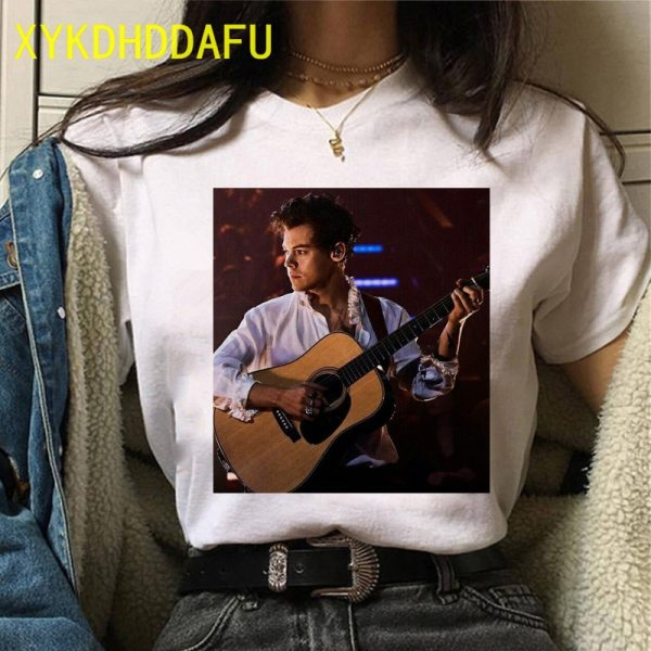 Harry Styles O-Neck T-Shirt For Female