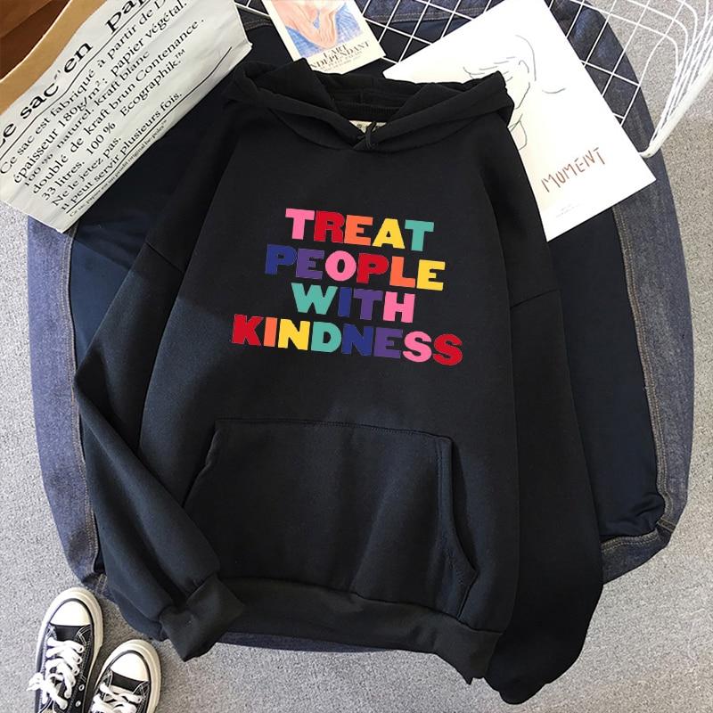Harry Styles TREAT PEOPLE WITH KINDNESS Sweatshirt Hoodies For Women