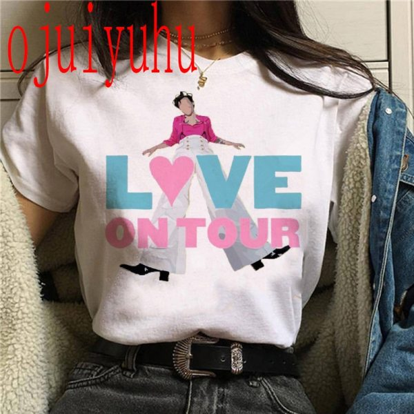 Harry Styles Summer Short Sleeve T-Shirt's For Women
