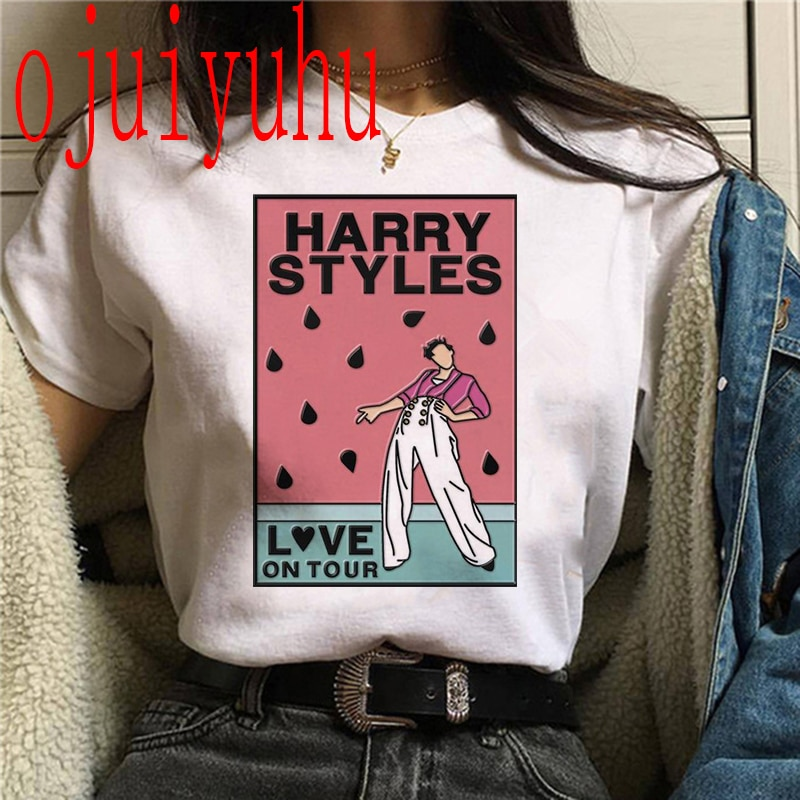 Harry Styles Summer Short Sleeve T-Shirt's For Women