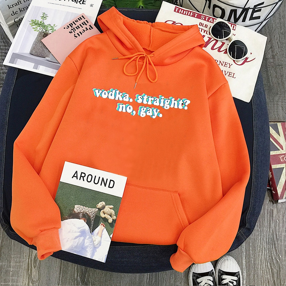 Harry Styles Sweatshirt Vodka Drinking Casual Hoodies For Women's