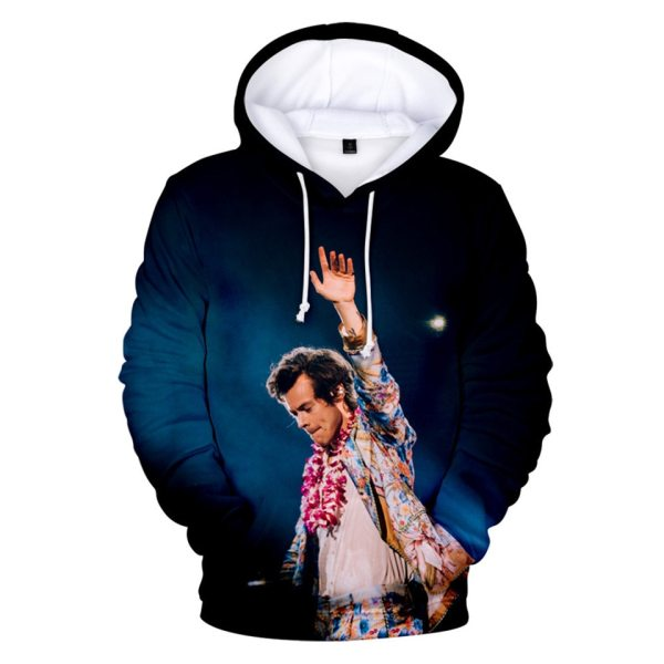 Hot Harry Styles 3D Hoodies Men Women Kindness Jacket Clothes