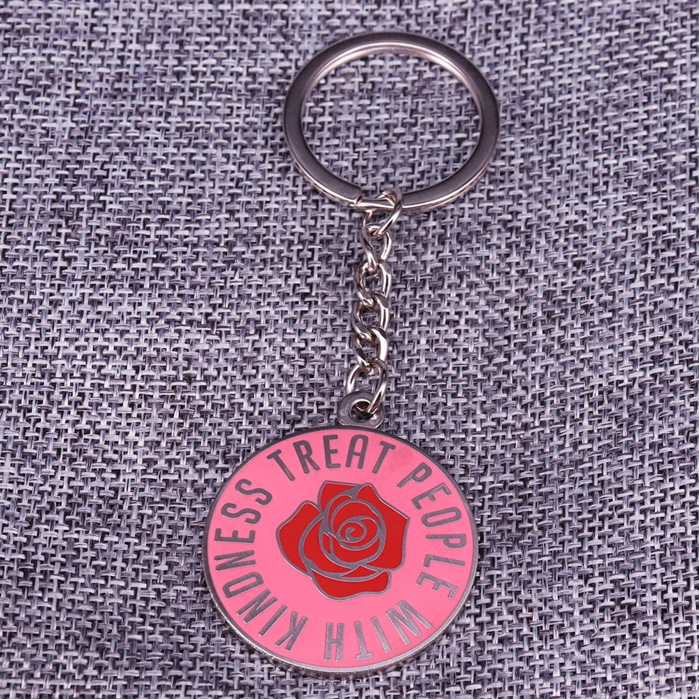 Harry Styles Treat People With Kindness Key Ring Keychain