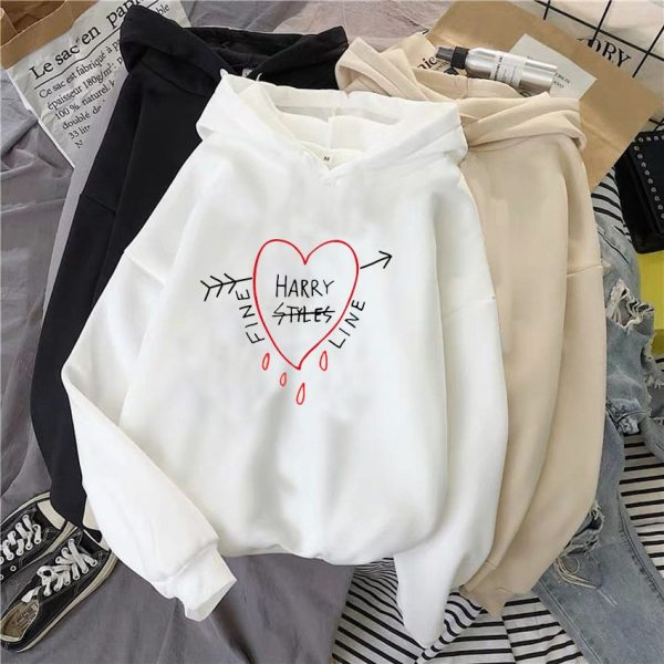 Harry Styles Sweatshirt Autumn Winter Casual Long Sleeve Hooded