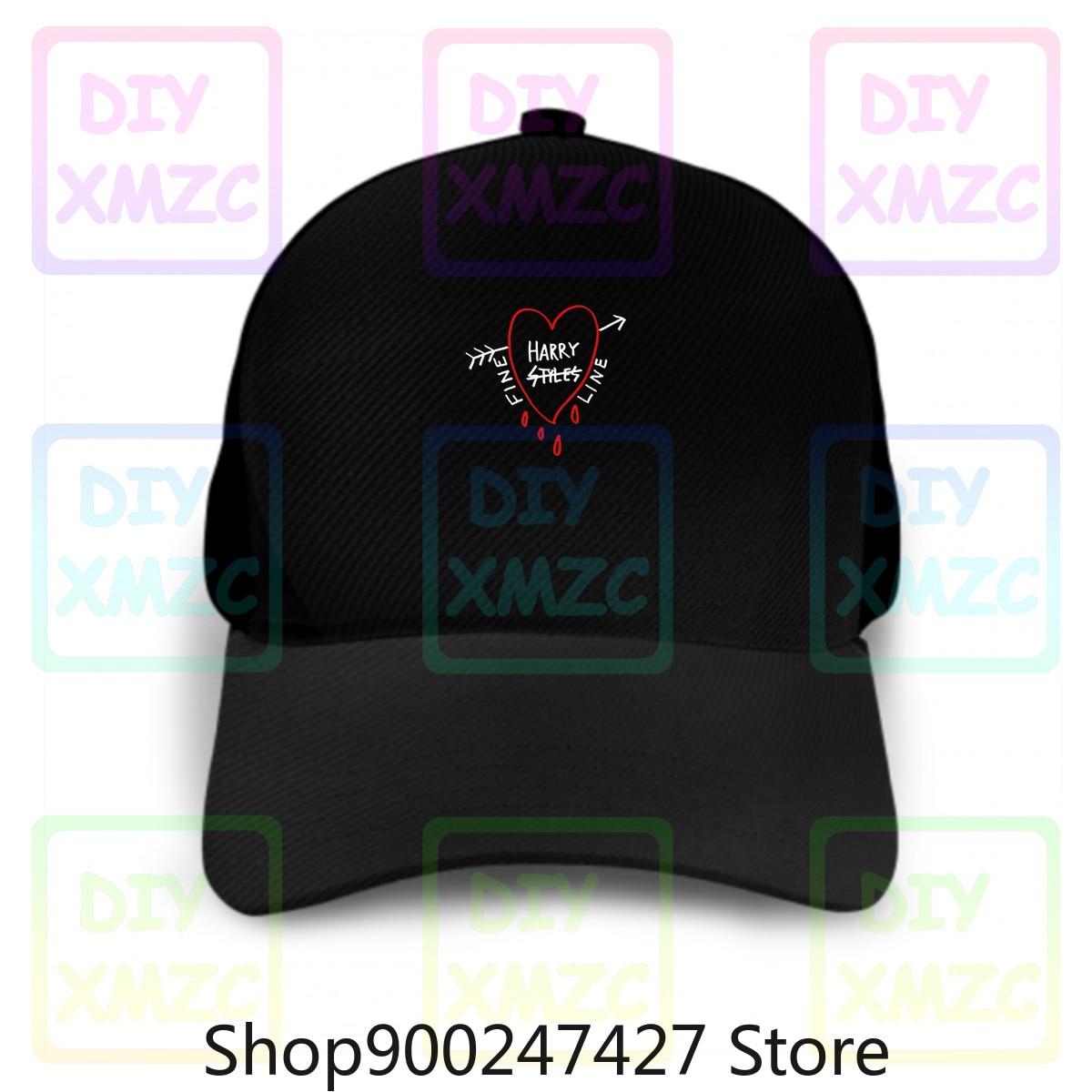 Harry Styles Fine Baseball Cap Line Heart Hats