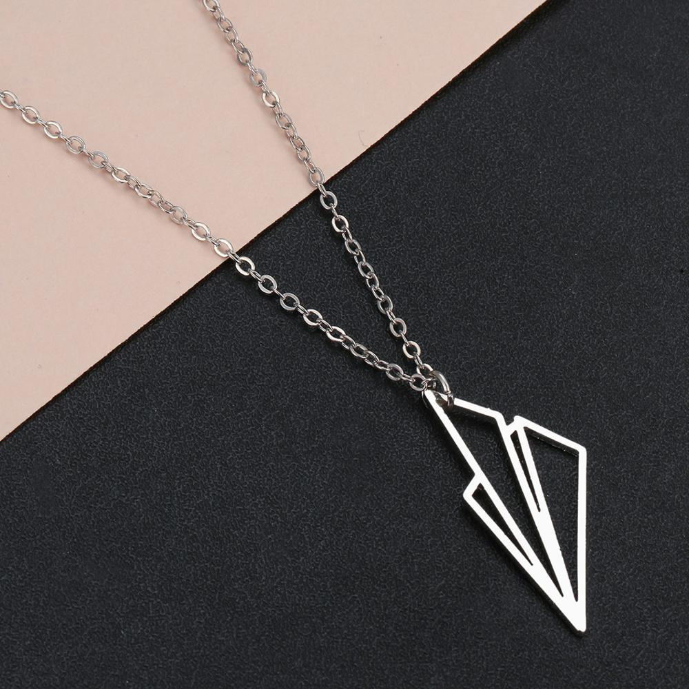 Harry Styles Jewelry Necklace Simple Paper Tiny aircraft Airplane