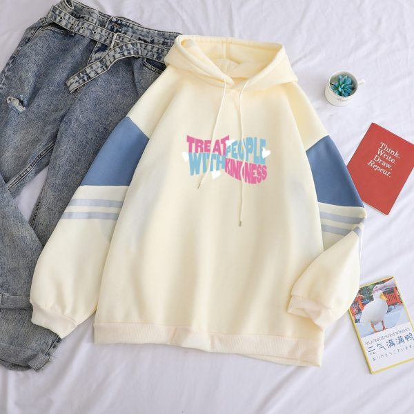 Harry Styles TPWK Treat People with Kindness Patchwork Hoodies Women or Men