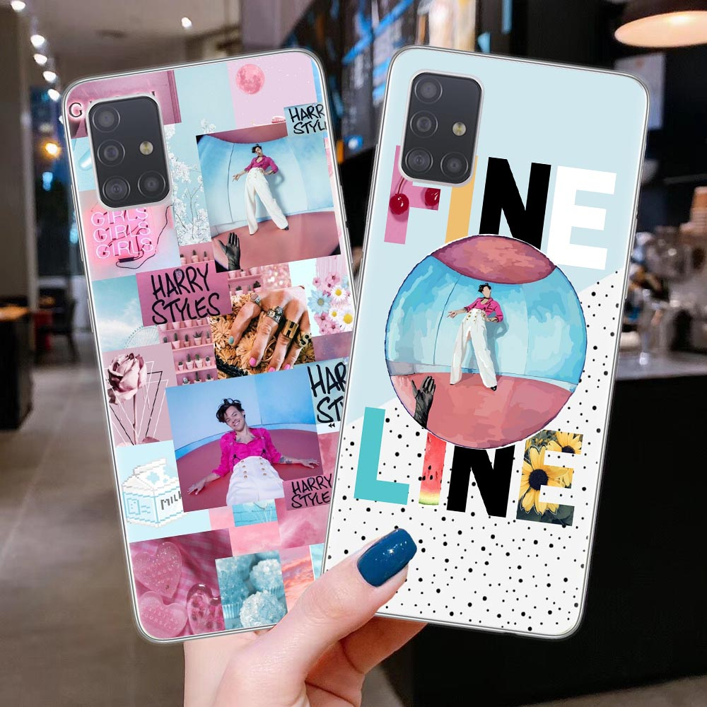 Harry Styles Aesthetic Phone Case For Samsung A10 A20 A30 A40 A50 A70 A51 A71 A7 A9 A6 A8