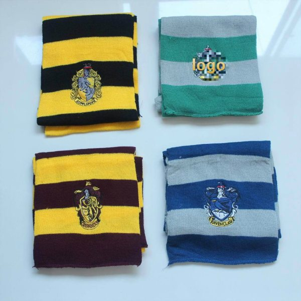 Harry Style Child&Adults Gryffindo/Slytherin Potter Scarf College Hat