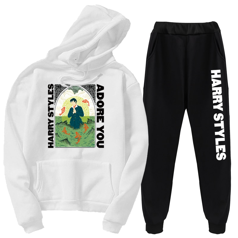 "Harry Styles ""Adore You"" Sweatshirt Hoodies 2 Piece Sets Hoodies"