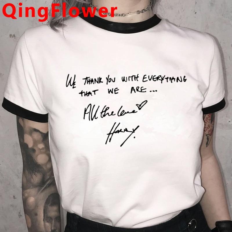 Harry Styles Fine Line Korean T Shirt For Women