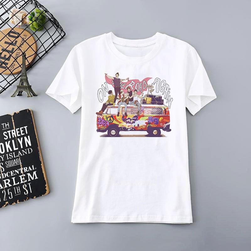 Harry Styles Merch Print T Shirt Oversized T-shirt Aesthetic 1D Girl Tops
