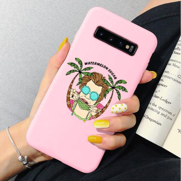"HARRY STYLES ""WATERMELON SUGAR"" phone case for Samsung Galaxy s20 Ultra s8 s9 s10 plus A50 A10 A20 A30 A70 A60 A51 A71"