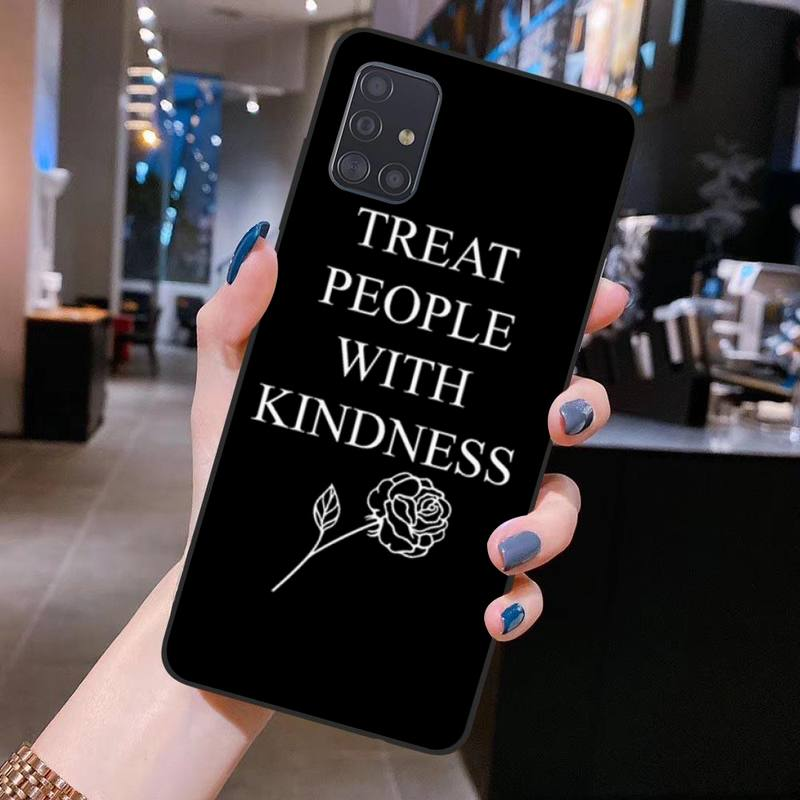 """Harry Styles """"Treat People With Kindness"""" Phone Case for Samsung S20 plus Ultra S6 S7 edge S8 S9"""