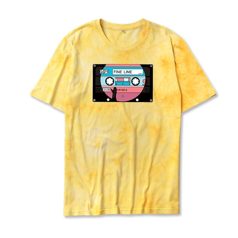 "Harry Styles ""FINE LINE"" Album Tie Dye Print T-shirt For Men and Women"