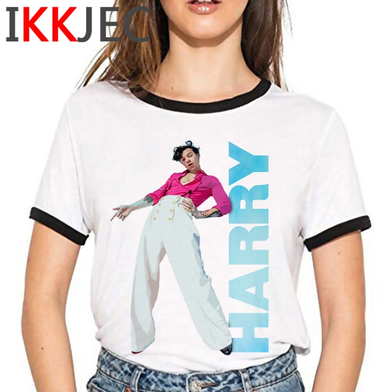 Harry Styles Gold Treat People with Kidness Tshirt